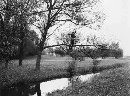 Bas Jan Ader: 'Broken Fall (organic)'; 1972