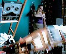 Eija-Liisa Ahtila: still uit video 'The Wind'; 2002
