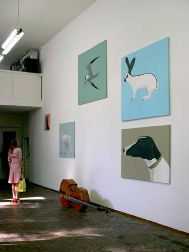 tentoonstelling van Jeroen Allart in galerie Aschenbach en Hofland