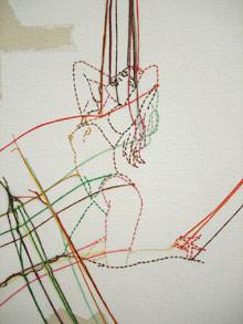Ghada Amer, detail