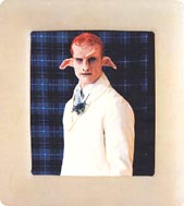 Matthew Barney: Cremaster 4 - The Loughton candidate; 1994; color photograph