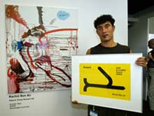 schilder Rachid Ben Ali en de KDR KunstRAI prijs
