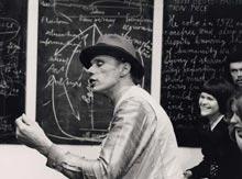 Joseph Beuys's Action Piece 26-6 February 1972.