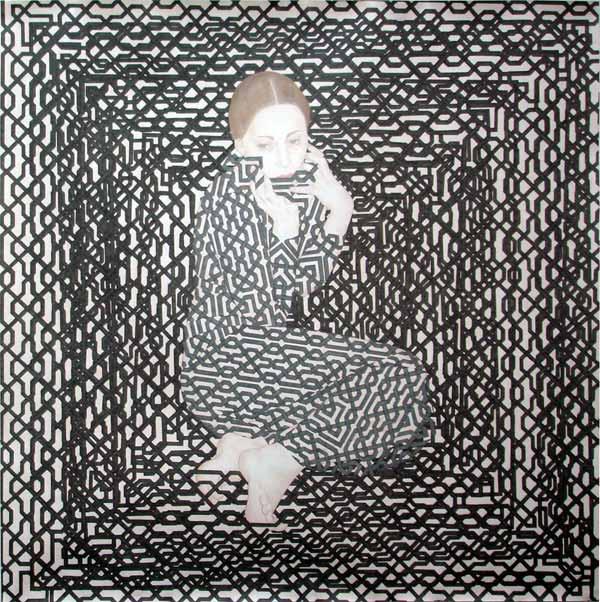 Adriana Czernin, untitled, 2006, 157 x 157 cm