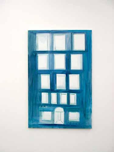 Ren� Dani�ls, Het Glazen, 1984, olieverf op doek, 200 x 130 cm