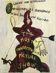 tragische held Ren&eacute; Dani&euml;ls... - The Most Contemporary Picture Show<br /> , 1983, �l auf Leinwand, 130 x 100 cm