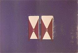 Ren� Daniels: 'de donkere kamer', 1986, gesigneerde zeefdruk.