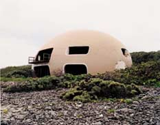 Tacita Dean: 'Bubble House (Exterior)'; 1999