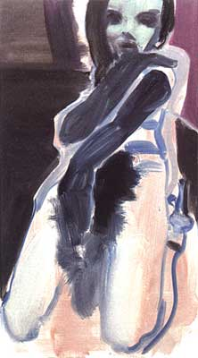 Marlene Dumas: Feathered Stola