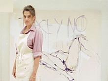 Tracey Emin met nieuw werk in atelier