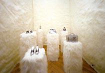 Sylvie Fleury: 'Cuddly wall'