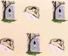 Robert Gober: 'hanging man / sleeping man'; 1998