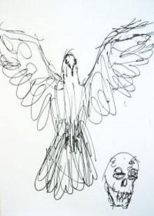 De inzending van Damien Hirst in 2005