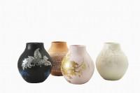 vier vazen van Hella Jongerius voor de Ikea PS collectie