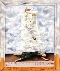 Frida Kahlo: 'The suicide of Dorothy Hale'; 1938/39