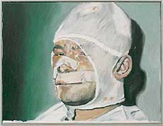 Martin Kippenberger, zelfportret