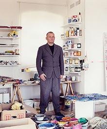 Martin Kippenberger, foto: Albrecht Fuchs