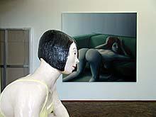 werk van Michael Kirkham in galerie Aschenbach & Hofland