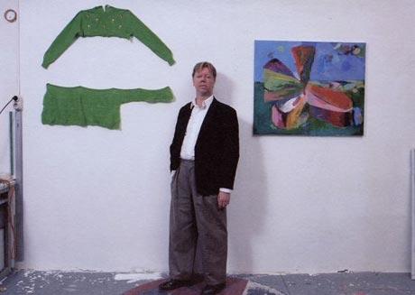 Rob van Koningsbruggen in zijn atelier