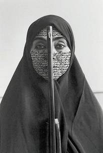 Shirin Nesaht, uit de serie 'women of Allah'