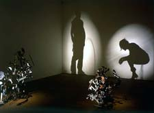 Tim Noble and Sue Webster: HE/SHE (installation view); 2003