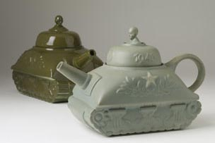 Louis Pilet: Theepot Tank; ca. 1945