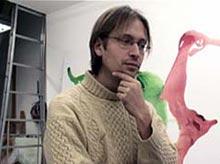 student op de Rijksakademie, still uit documentaire