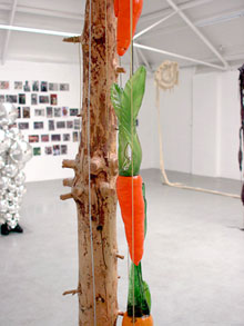 Maria Roosen in galerie Fons Welters (foto's hinke | suds and soda)
