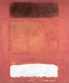 Mark Rothko: 'Red, White, Brown'; 1957; olie op doek; 252,5 x 207,5 cm