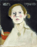Helene Schjerfbeck, in het Gemeentemuseum in Den Haag