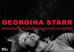 uitnodiging voor een tentoonstelling van Georgina starr in 'Pinksummer Contemporary Art'