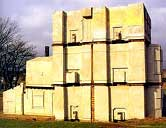 winnaar 1993: Rachel Whiteread: 'House'; 1993