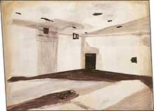 Luc Tuymans: Gaskamer (Gas Chamber); 1986