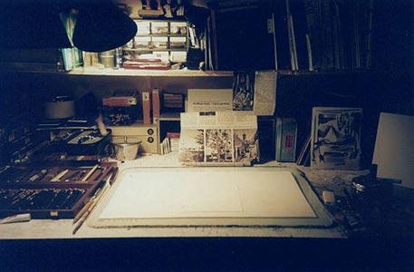 Van Eeden's werkkamer
