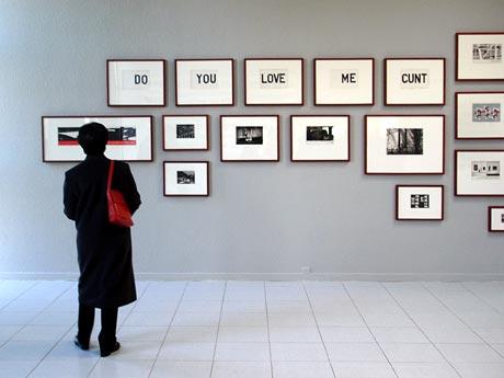 werk van Marcel van Eeden in Museum Dhondt-Dhaenens