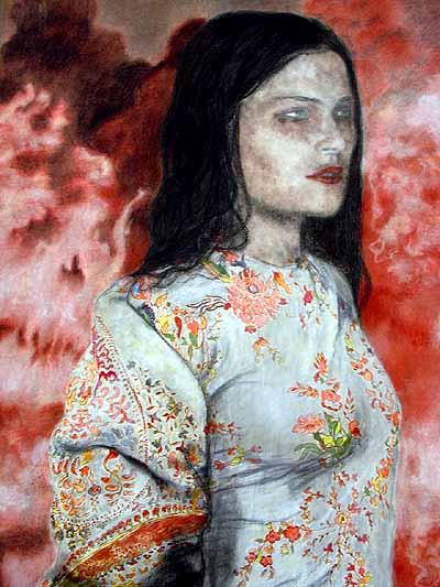 Iris van Dongen, detail van 'Dragon', 2004
