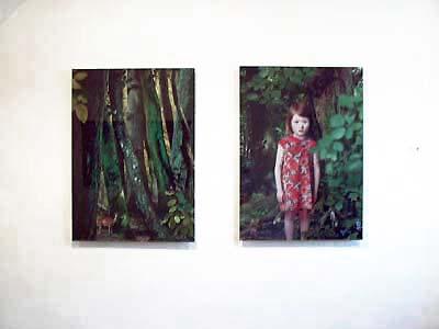 Ruud van Empel, uit de serie 'Study in Green'; 2003