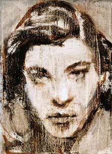 Johannes van Vugt; 2004; olieverf op doek; 18 x 13 cm