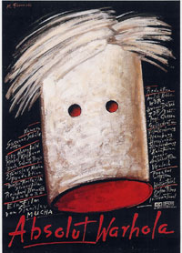 affiche voor 'Absolut warhola'
