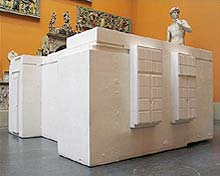 Rachel Whiteread: untitled (room 101); 2003; gips
