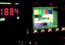 werk van Gerald van der Kaap op het World Wide Video Festival 1998