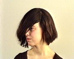 Yael Davids: beeld uit 'Face'; videoprojectie; 2001